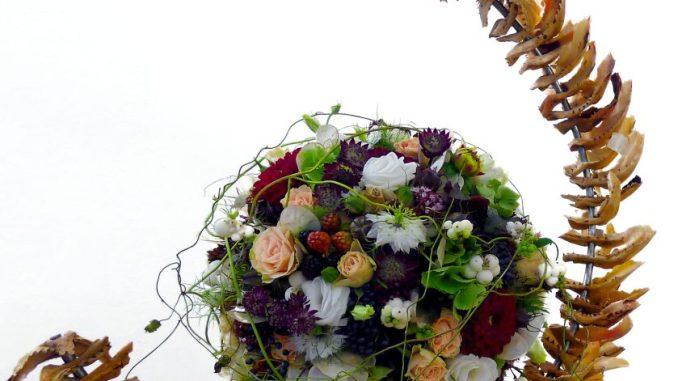 Wunderschöne Blumen freuen sich auf die Besucher. Foto: PR
