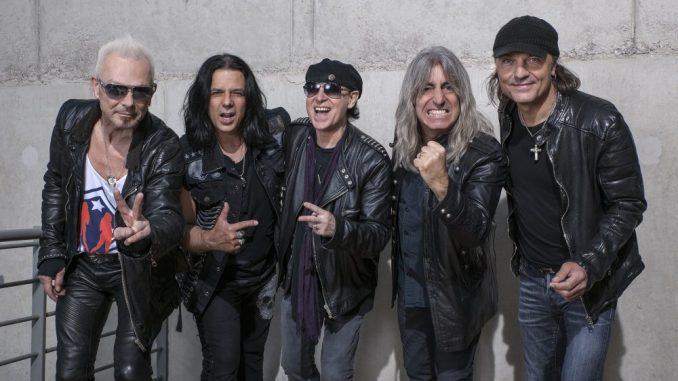 Die Scorpions freuen sich auf ihren Besuch in der Messestadt. Foto: PR
