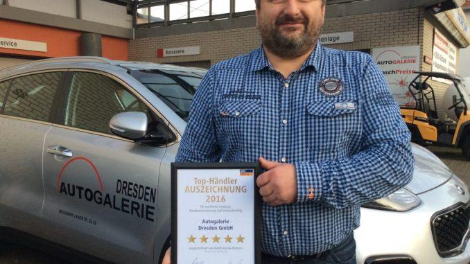 René Sobkowiak freut sich über die Auszeichnung. Foto: René Haenel