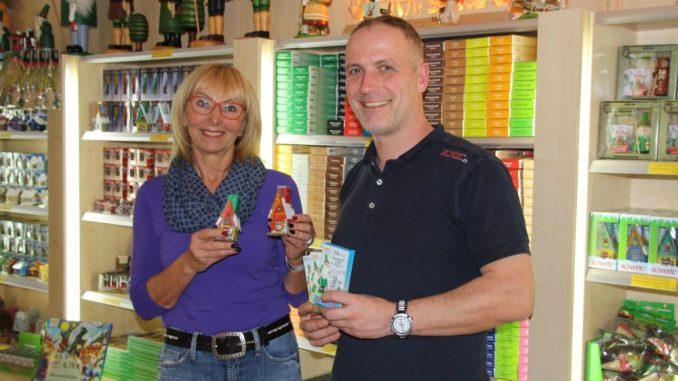 Marion Koch und Dennis Koch-Beyer freuen sich auf die Besucher bei Knox. Foto: PR