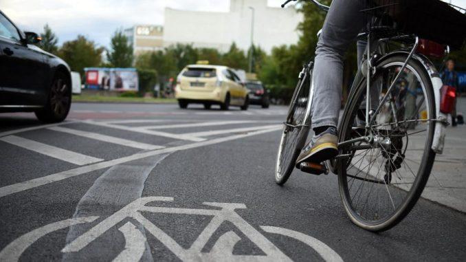Radfahrer. Foto: Britta Pedersen/Archiv