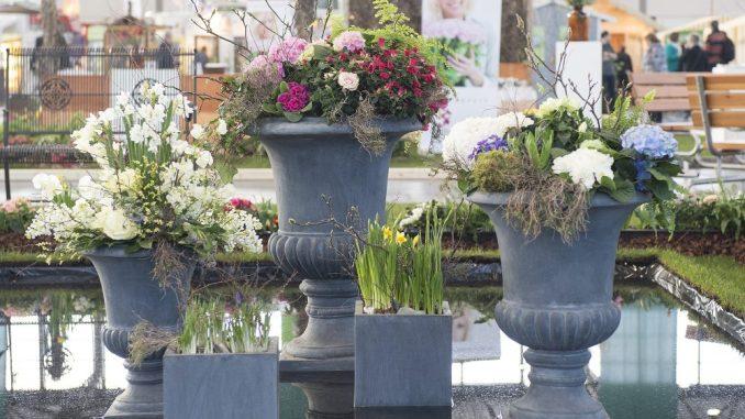 """Auf der """"Haus-Garten-Freizeit"""" holt man sich Inspirationen für das eigene zu Hause. Foto: Messe Leipzig"""