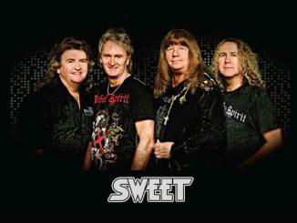 The Sweet sind am 23. März im Alten Schlachthof. Foto: PR