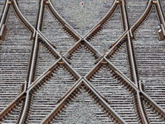 Bahnschienen. Foto: Jan Woitas/Archiv