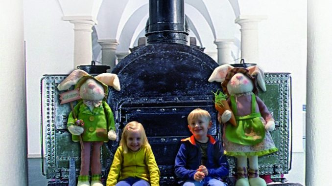 Ostern im Verkehrsmuseum. Foto: PR