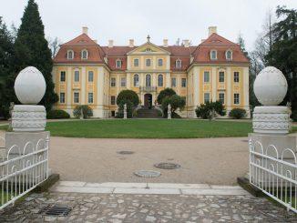 Das Barockschloss Rammenau ist zu sehen. Foto: Sebastian Kahnert