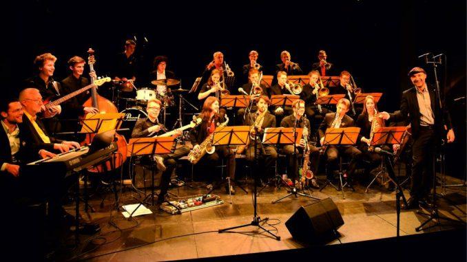 Die Dresden Bigband unter Micha Winkler Foto: Peter Pappritz