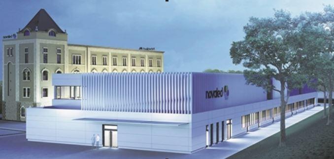 Hinter dem künftigen Technikum ziehen Büros in die Alte Mühle. Visualisierung: Novaled