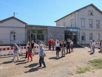 Eröffnung des «Generationenbahnhofs». Foto: Jan Woitas