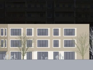 So soll die neue Kita Malterstraße aussehen. Visualisierung: rohdecan Architekten