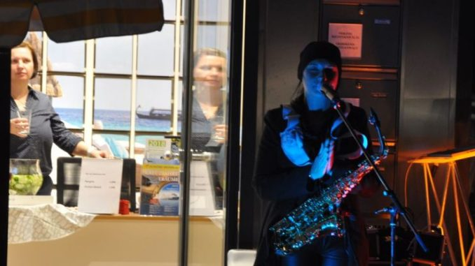 Cocktailnight im Barockviertel - am 7. September 2017 boten viele Läden in Dresdens Innerer Neustadt am Abend Mixgetränke und Musik an. Foto: Una Giesecke
