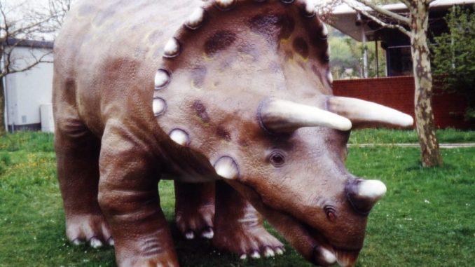 Dinoausstellung in Dresden