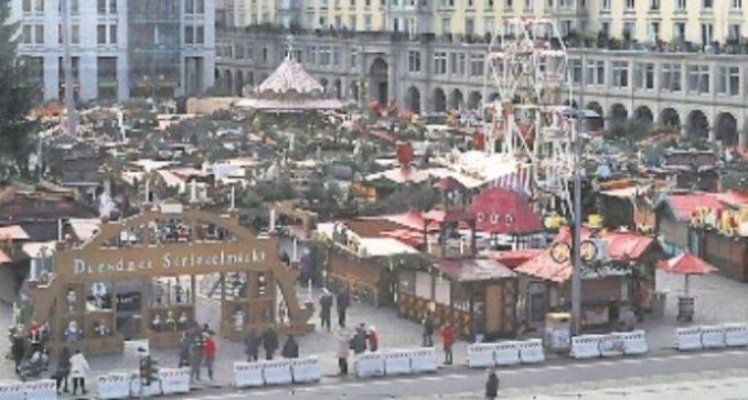 Seit dem 29. November ist der Striezelmarkt wieder geöffnet. Foto: Una Giesecke