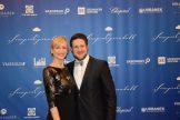 Olympiasieger Matthias Steiner mit Ehefrau.