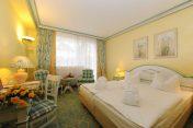 Stilvoll gemütliche Doppelzimmer (Standard) im Rugard Thermal Strandhotel, Binz /Rügen (Foto: PR)