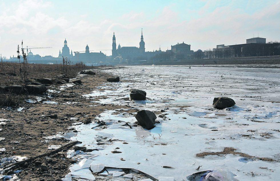 Dresden Silhouette – Hoch Hartmuts sorgt für Eiseskälte