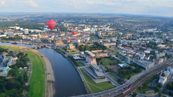 Blick über die Elbe in Dresden. (Foto: Sophia Reuther)