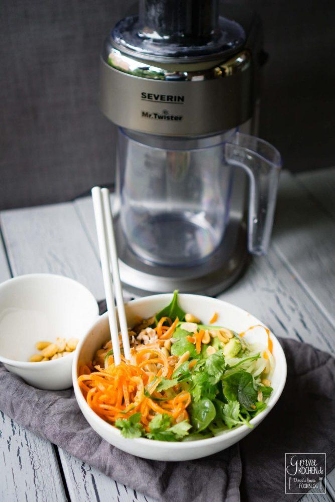 Bunte Salate im Handumdrehen