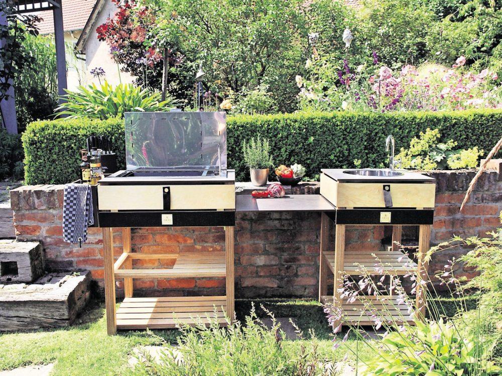 Outdoorküche Klein Waschmaschine : Outdoorküche wasserinstallation andys grillstube
