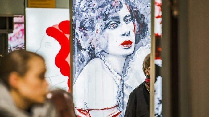 """Die Ausstellung """"We are part of Culture"""" ist zu Gast in Dresden. Fotos: Tino Broyer"""