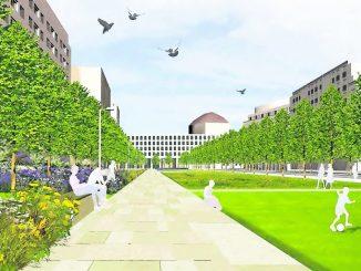Grün und freundlich: So soll der Promenandenring zukünftig zum Flanieren einladen.