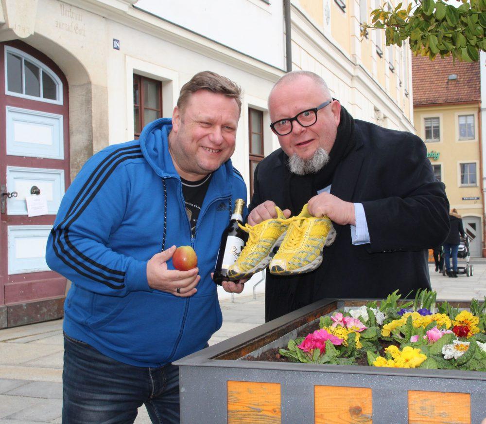 Moderation beim Bierstadtfest in Radeberg