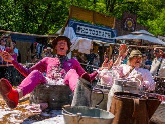 Radebeuler Karl-May-Festtage im Radebeuler Lößnitzgrund. Foto: André Wirsig