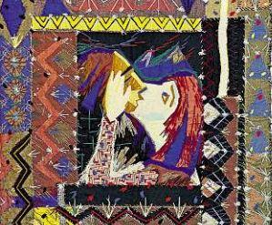 Wandbehang von Willy Schmidt, 1934. Foto: PR