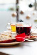 Im Café Milchmädchen in Dresden Gruna werden neben verschiedenen Kaffeespezialitäten auch frisch zubereitete Tees angeboten (Foto: Christian Chalupka)