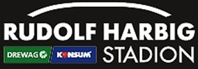 Erste Ansicht des neuen Logos vom Rudolf-Harbig-Stadion Dresden. (Foto: Stadion DD)