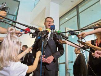 Sachsens Innenminister Roland Wöller verkündete vergangene Woche, dass der Freistaat kräftig in die Infrastruktur seiner Kommunen investieren will. Foto: dpa