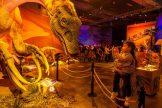 Anfassen, Staunen und Entdecken lautet die Devise der Dinoworld Ausstellung in der Dresdner Zeitenströmung 2018/2019. (Foto: Rainer Christian Kurzeder)