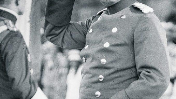 König Friedrich August III. von Sachsen. Foto: SLUB Dresden/E. C. Donadini