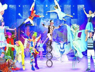 """Der """"Russian Circus on Ice"""" bietet Artistik, Glamour und höchste technische Perfektion auf Kufen Foto: PR"""