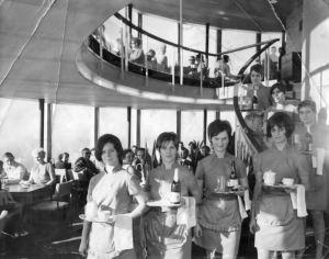 Historische Aufnahmen des Fernsehturm. Foto: Fernsehturmverein