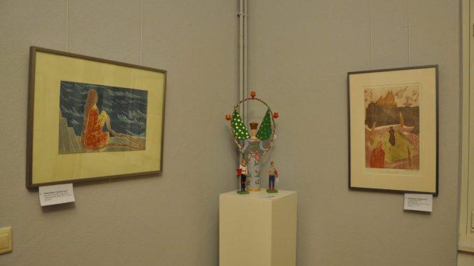 Blick in die aktuelle Sonderschau der Kunstausstellung Kühl Foto: Una Giesecke