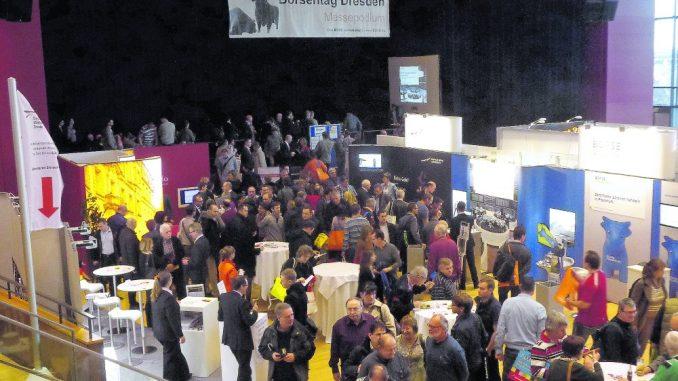 Wie schon im vergangenen Jahr wird auch diesmal der BörsenTAG Dresden viele interessierte Besucher in den Großen Saal im Kongresszentrum locken.