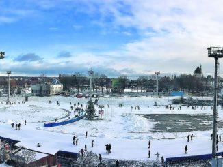 Eislaufen Besucherrekord