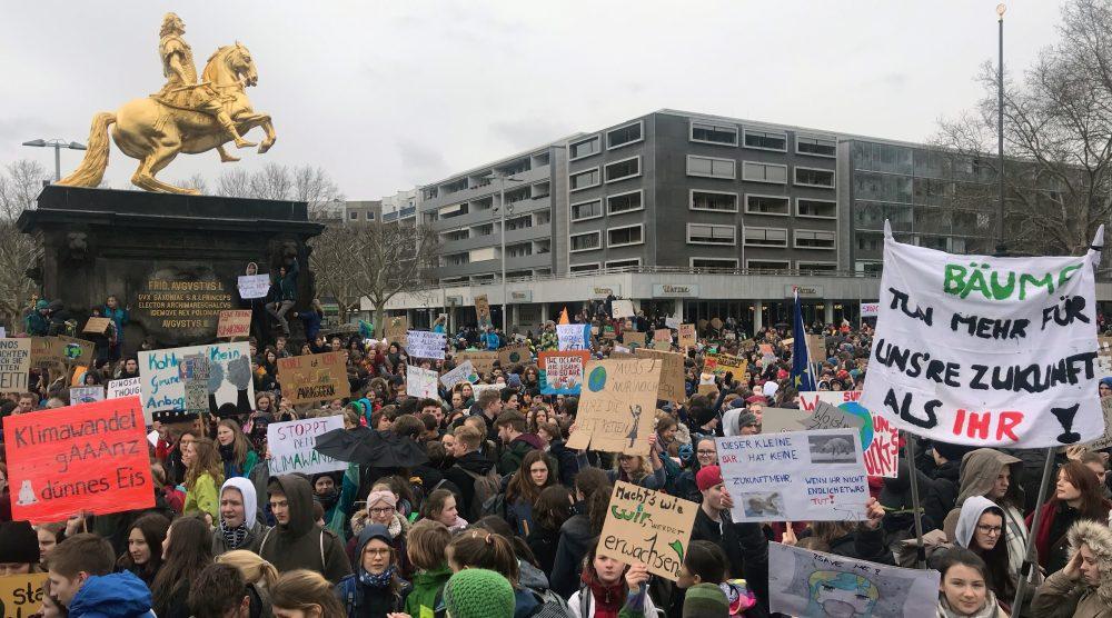 """""""Fridays for Future"""" ruft zum nächsten Streik in Dresden auf"""