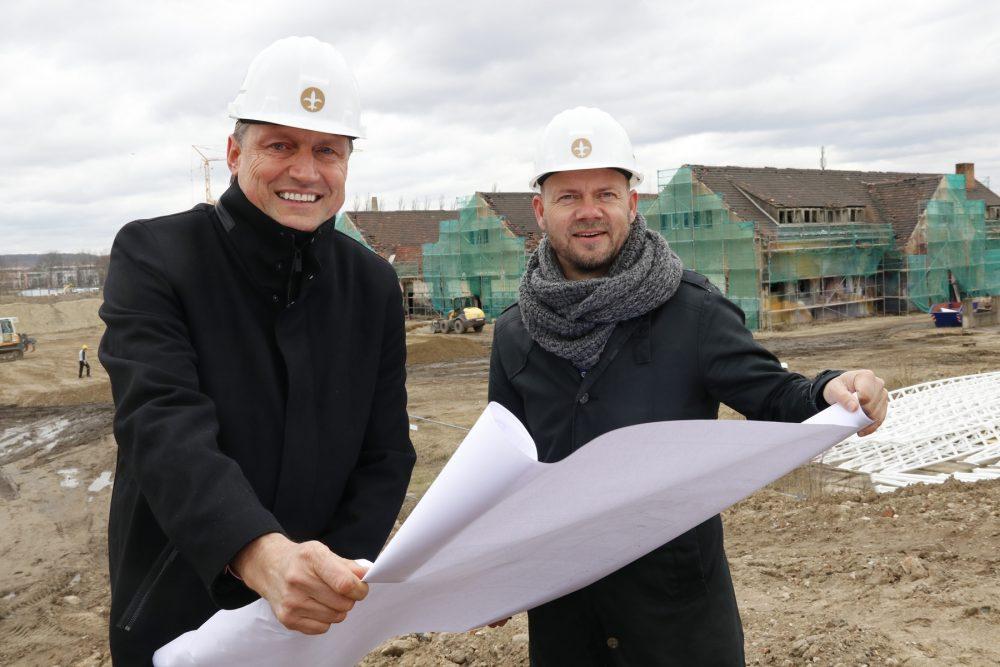 """""""Ostra-Dome"""" und """"Ostra-Studios"""" - Neue Eventlocations entstehen neben der Messe Dresden"""