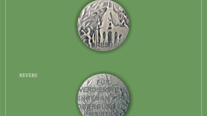 Die neue Ehrenmünze der Stadt Dresden. Foto: Stadt Dresden