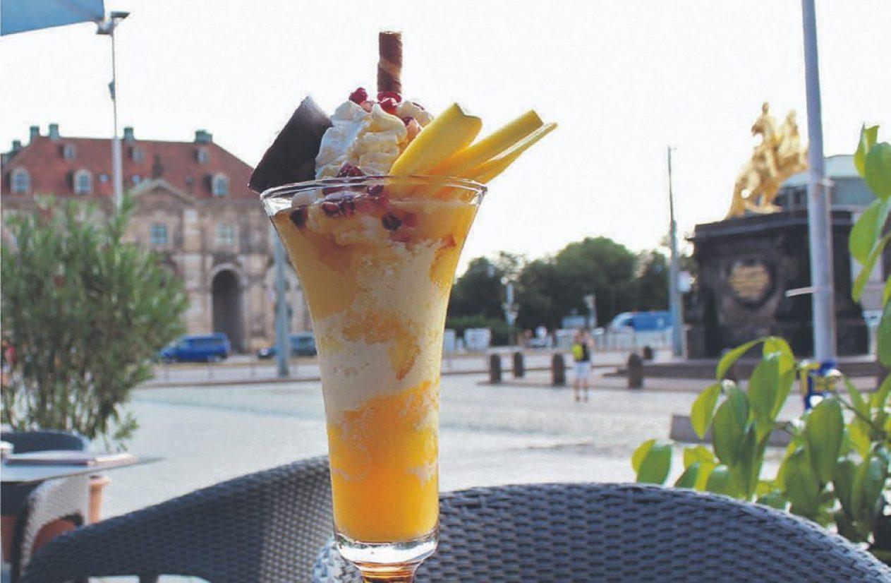 Venezia Mango Eisbecher