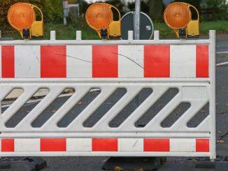 Sperrung Gröbelstraße Vollsperrung Umleitung