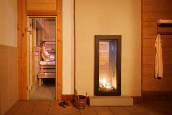 Bio-Sauna in der Badescheune