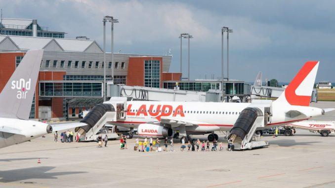 Flughafen Dresden - Sundair