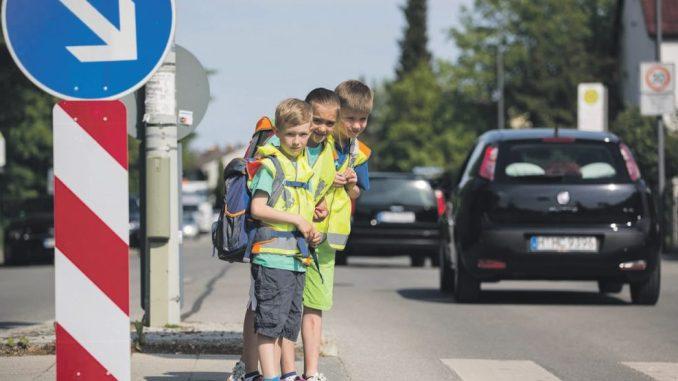 sicherer Schulweg für Kinder