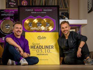 Purple Disco Machine gibt großes Heimkonzert zum Dresdner Stadtfest