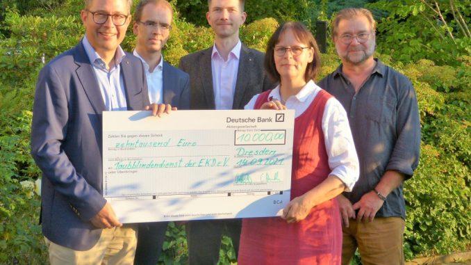 LIONS-Club Dresden spendet 10.000 Euro
