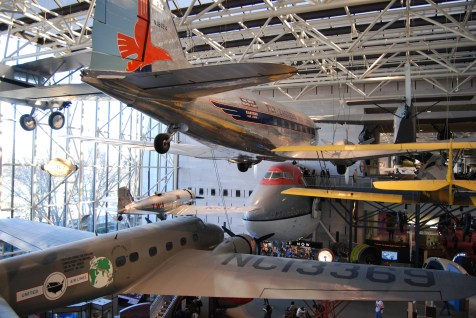 Inside the Air and Space Museum