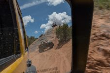View from the Jeep Mirror